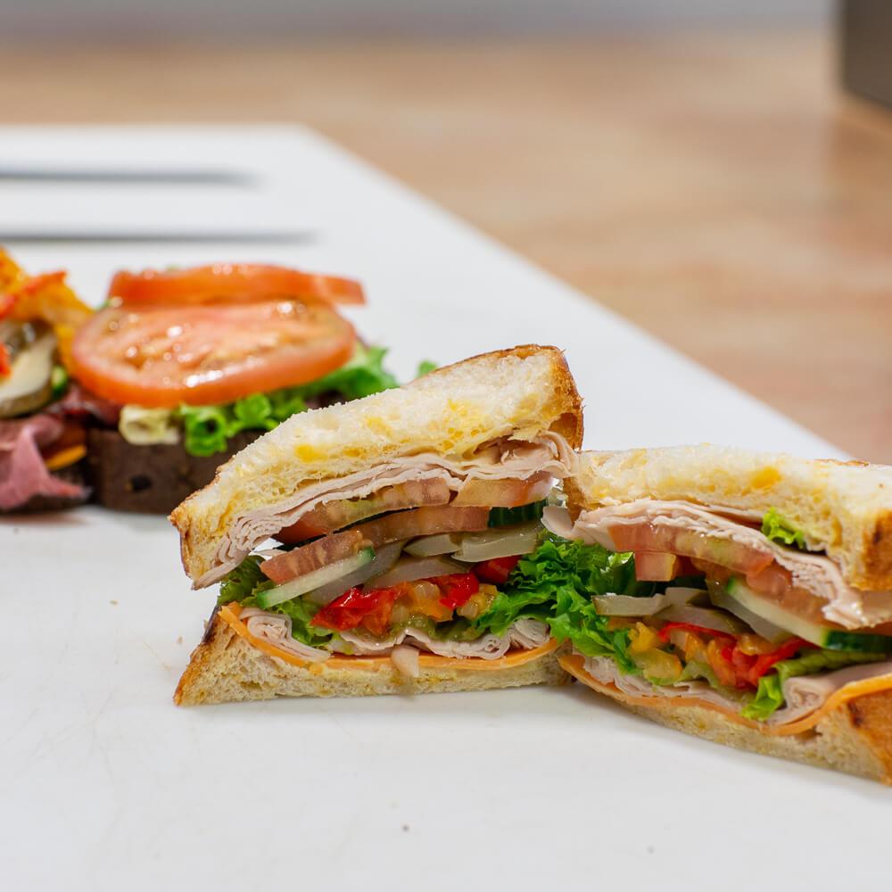 Red Deer Sandwich Lunch