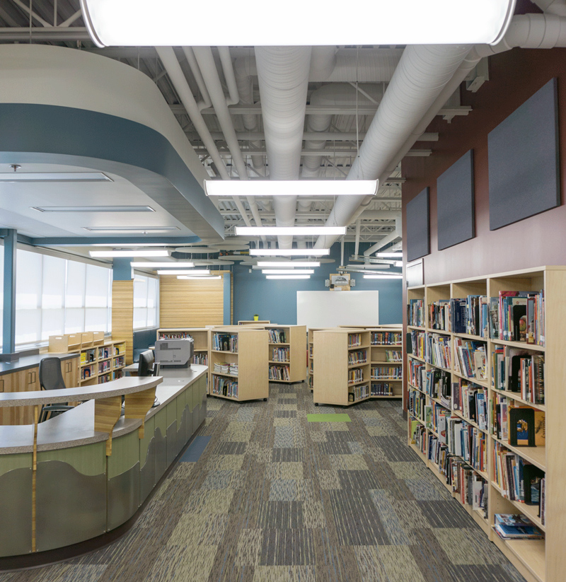 Architectural Library Photography